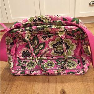 EUC Vera Bradley Weekender Travel Bag